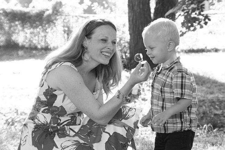 Carson&Mommy