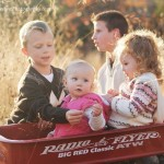4 Cousins and a wagon ~Sapupla Area Child Photographer