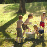 Water Balloon Fight! ~Day 6