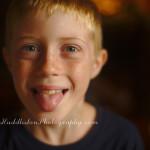 Last Days as an 8yr old! Photo bombs.