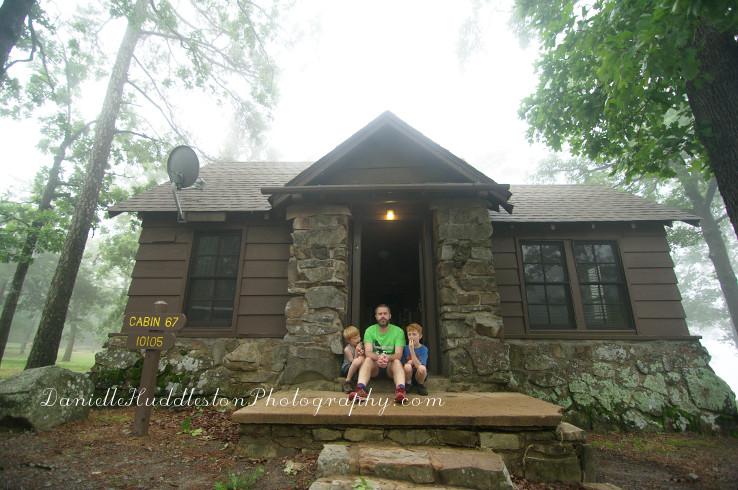 Mount Nebo State Park Cabin Danielle Huddleston Photography